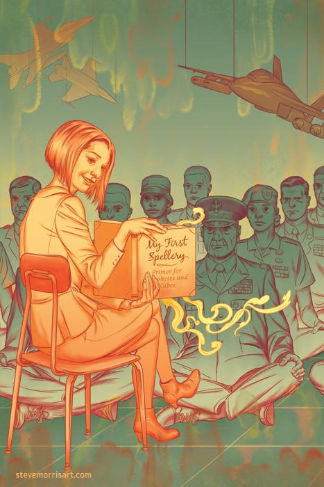 Buffy the Vampire Slayer Season 10 issue 22 by StevenJamesMorris