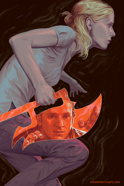 Buffy the Vampire Slayer cover season 10 issue 23 by StevenJamesMorris