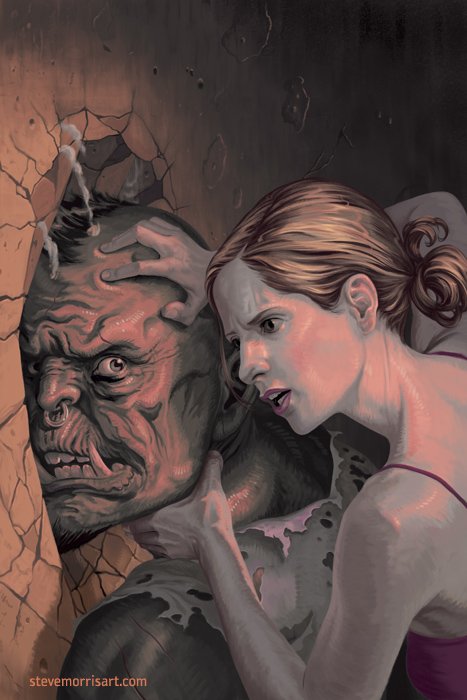 Buffy the Vampire Slayer cover issue 26 season 10 by StevenJamesMorris