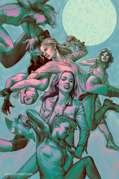 Buffy the Vampire Slayer - Issue 8 - Season 11 by StevenJamesMorris