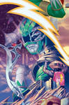 Mighty Morphin Powers Rangers #16 variant cover