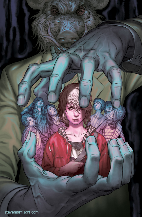 Stained cover #3 by StevenJamesMorris