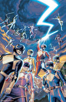 Mighty Morphin Power Rangers Anniversary Special by StevenJamesMorris