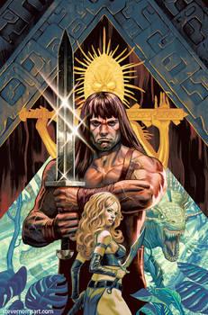 Cimmerian Red Nails, Conan the Barbarian