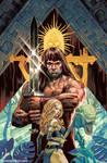 Cimmerian Red Nails, Conan the Barbarian by StevenJamesMorris