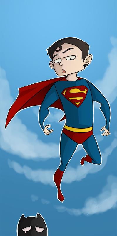Superman being an ass. by kwallie