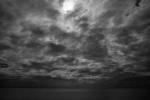 Clouds at sea by Nigel-Kell