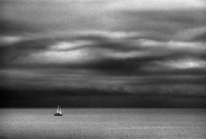 Sailing into darkness by Nigel-Kell