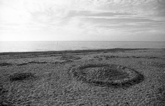 Henge on the beach