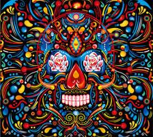 Mexican Skull by FlyDesignStudio