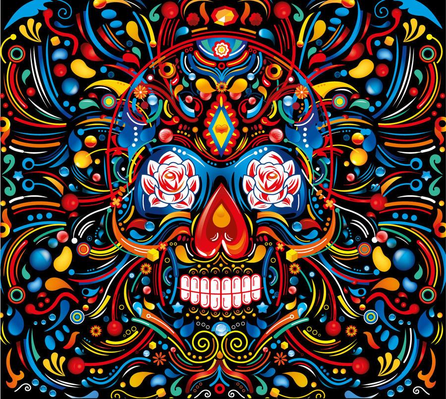 Mexican Skull By Flydesignstudio On Deviantart