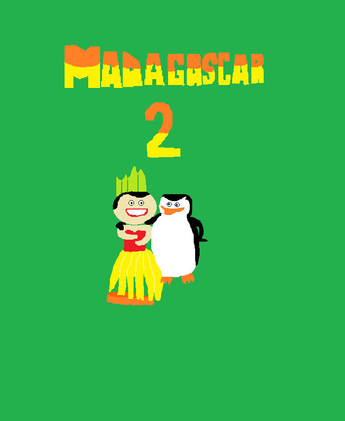 Madagascar 2- Skipper and Hula Girl by NattyMc123 on