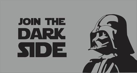 Join The Dark Side Darth Vader Flag