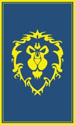 Warcraft Alliance Banner