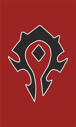 Warcraft Horde Banner