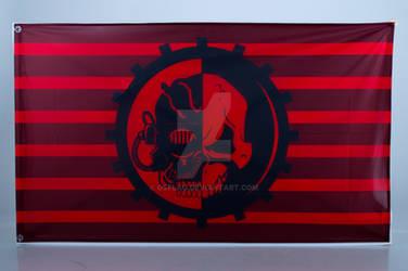 Warhammer 40000 Adeptus Mechanicus Flag