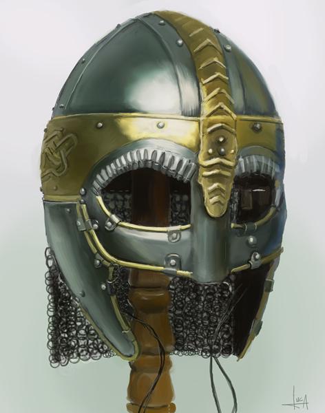 Helmet Study by luca540