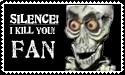 SILENCE stamp