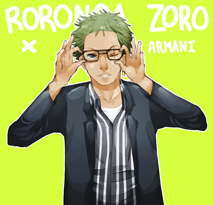 Zoro x Armani by fuses