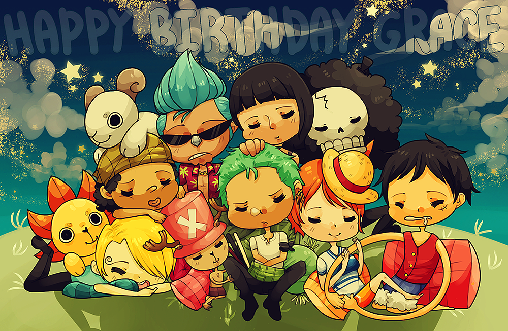 Sleeping Strawhats by fuses