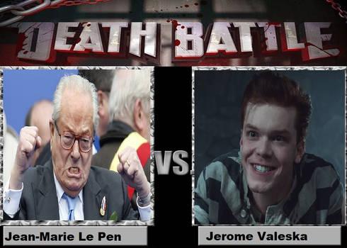 death battle jean-marie le pen vs Jerome Valeska