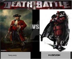 Death Battle Henry Avery Vs M.bison