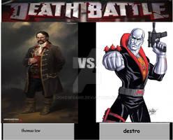 Death Battle Thomas Tew Vs Destro