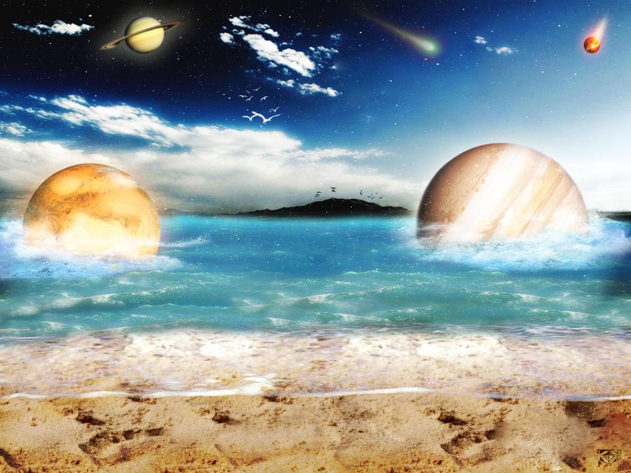 Sky Ocean Dream by KyleKirkner