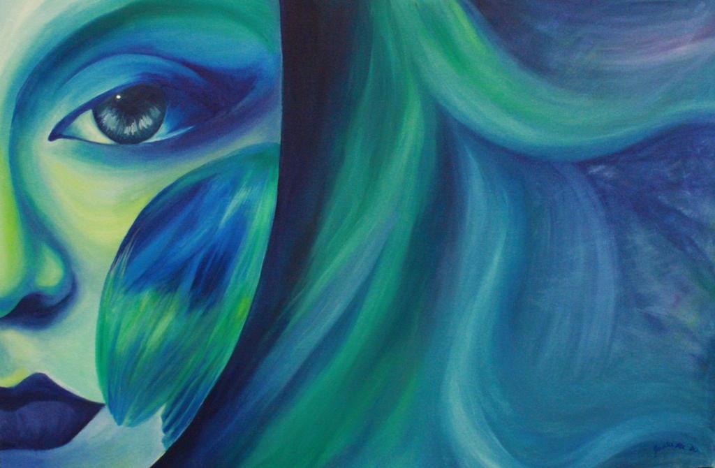 Blue by Mushypork