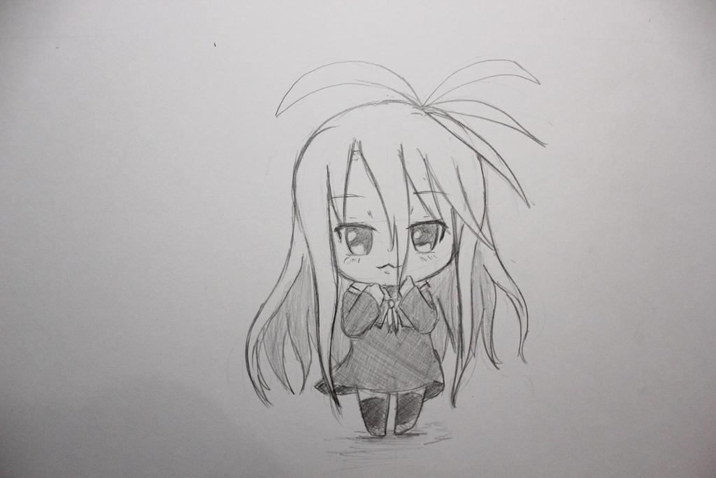 Drawing Chibi #3 Shiro (No Game No Life) By Okuta129 On