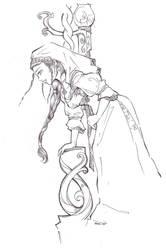 Kalevala: Maiden or a Wife by nopsku