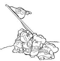 Bonta Kun's triumph Line ARt by Petey-chan