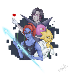 Undertale trio