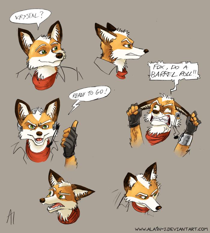 Keep your head cool, Fox by ALA1N-J
