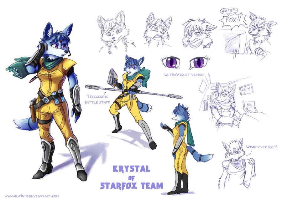 Krystal redesign by ALA1N-J