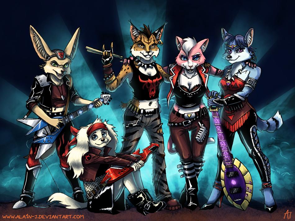 Let's Rock'n Roll! by ALA1N-J