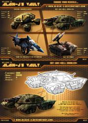 Choose your vehicle... by ALA1N-J