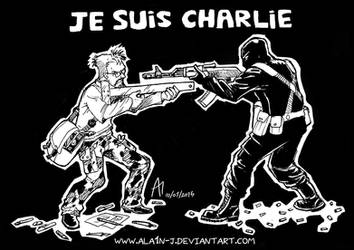 Je Suis Charlie by ALA1N-J
