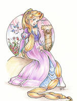 Rapunzel by snoprincess