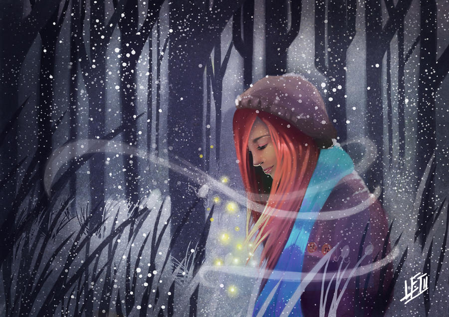 Snow Falling by snoprincess