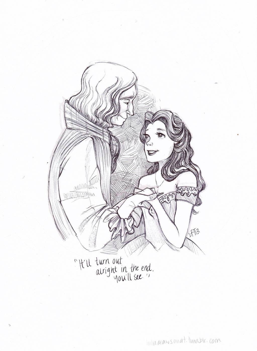 Rumbelle by snoprincess