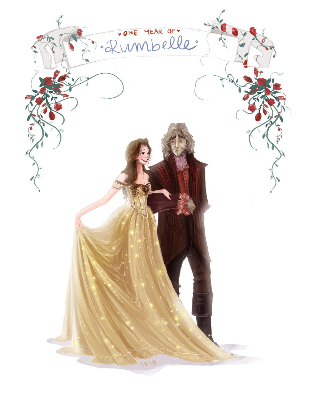 One year of Rumbelle by snoprincess