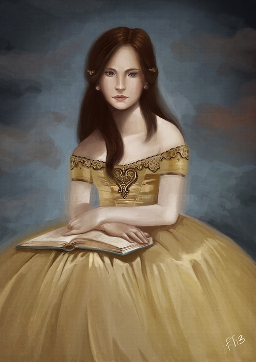 Once upon a time- Belle by snoprincess