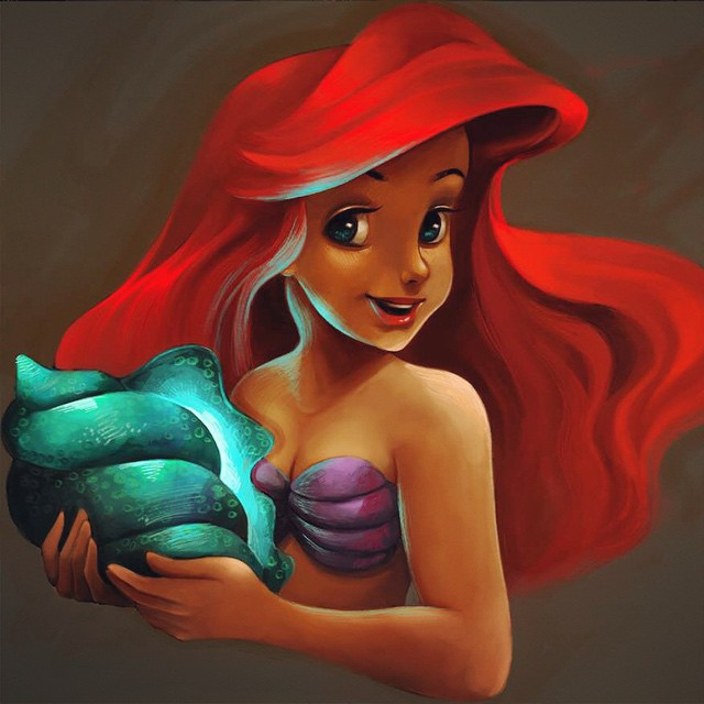 Ariel Coloring Page by snoprincess