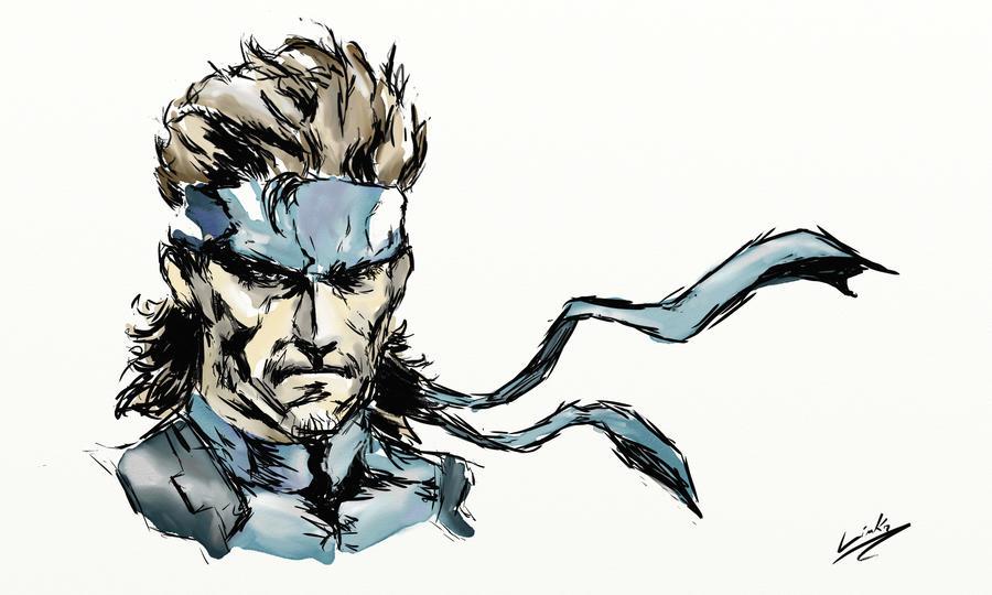 Solid Snake - COLOR