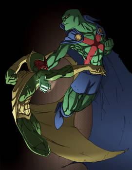 Vision vs. Martian spade92 col