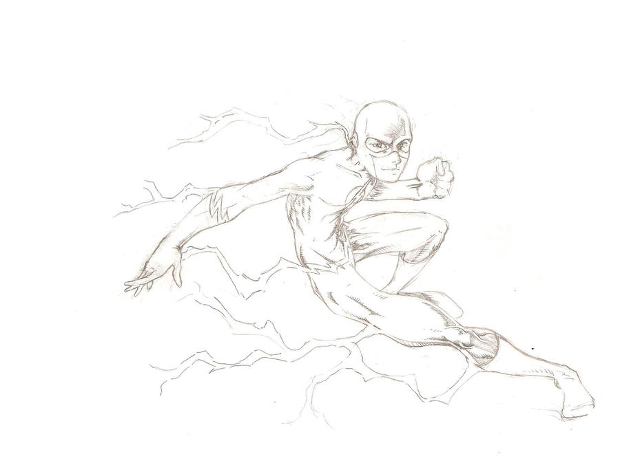 The Flash Line Art : The flash drawing step by comics amino