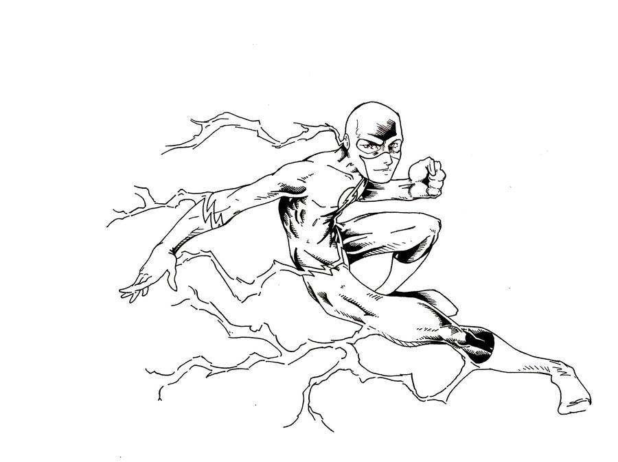 The Flash Line Art : The flash inks by parisalleyne on deviantart