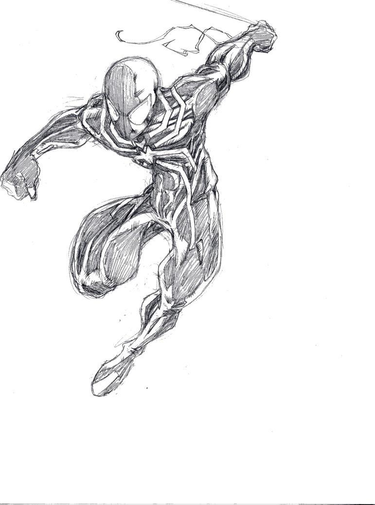 Quick Spider-man Neon Green by ParisAlleyne
