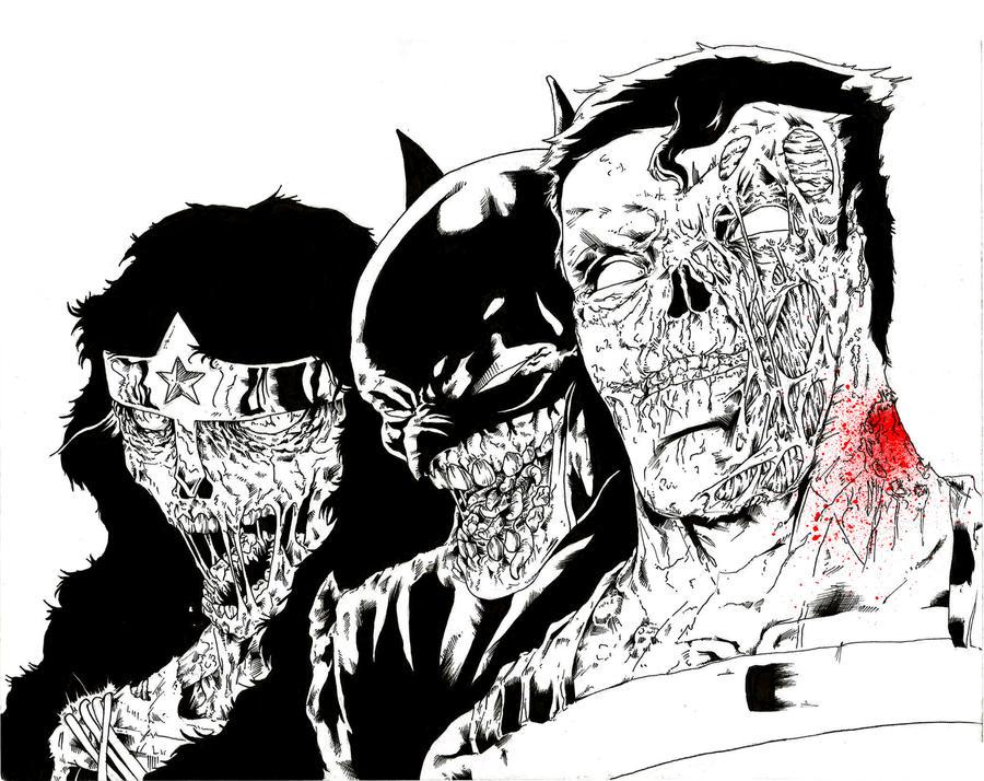 The Zombie Trinity by ParisAlleyne